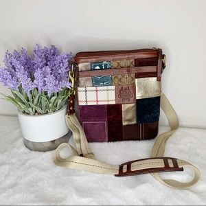 Coach Holiday Limited Edition Patchwork Crossbody